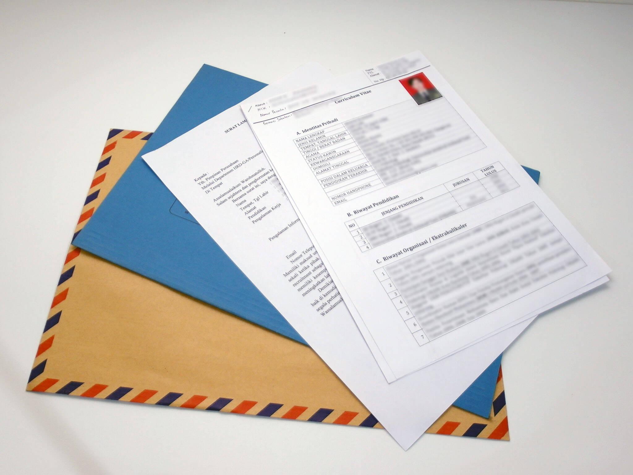 Penting Ini Contoh Surat Lamaran Kerja Yang Harus Diperhatikan Pelamar